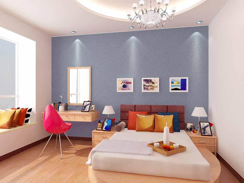 装修美图 清新简约装修卧室设计图  免费户型设计 3家优质装修公司