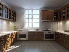 中式简单厨房装修案例