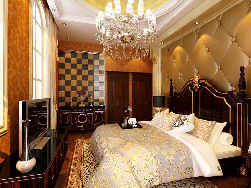欧式豪华卧室装修效果展示