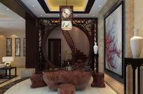 中式典雅茶室装修案例欣赏
