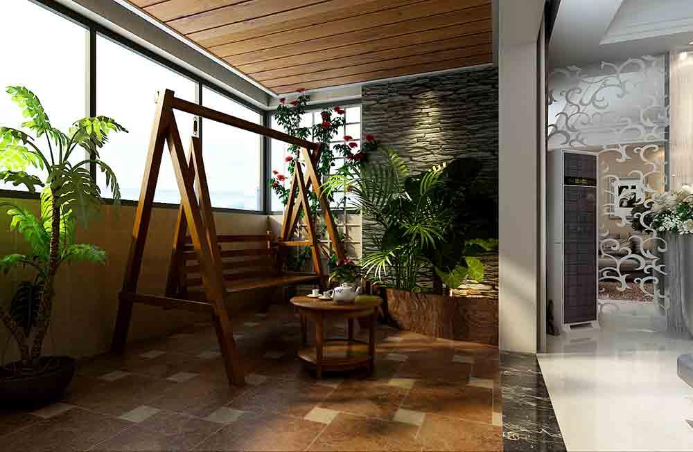 现代清新阳台装修设计  免费户型设计 3家优质装修公司免费帮您出方案