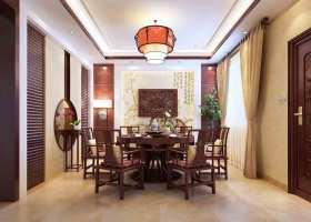 中式餐厅装修案例欣赏