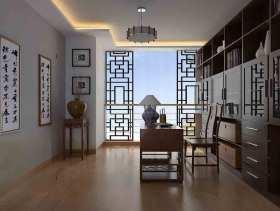 中式书房装修案例欣赏