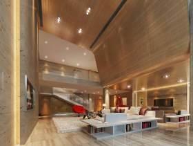 2016现代质朴客厅装修案例