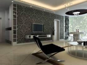 2016现代客厅装修效果图设计