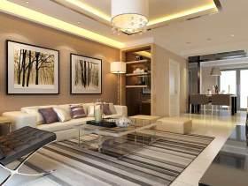 现代客厅装修设计欣赏