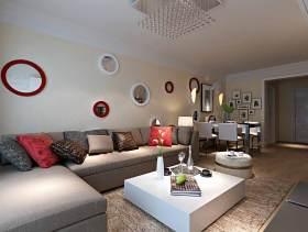 现代客厅装修案例欣赏