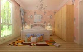 田园可爱儿童房装修布局