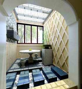 地中海创意阳台装潢