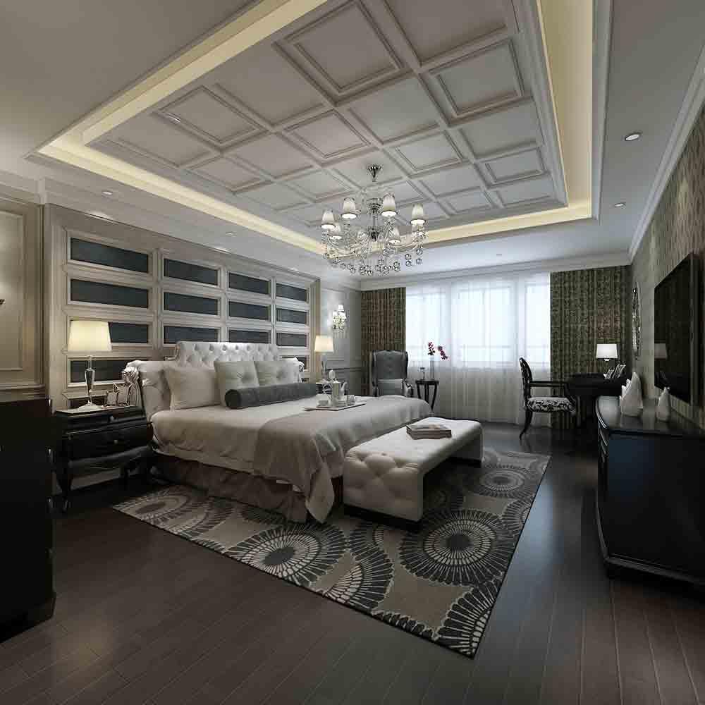 2016简欧风卧室装修设计效果图精选