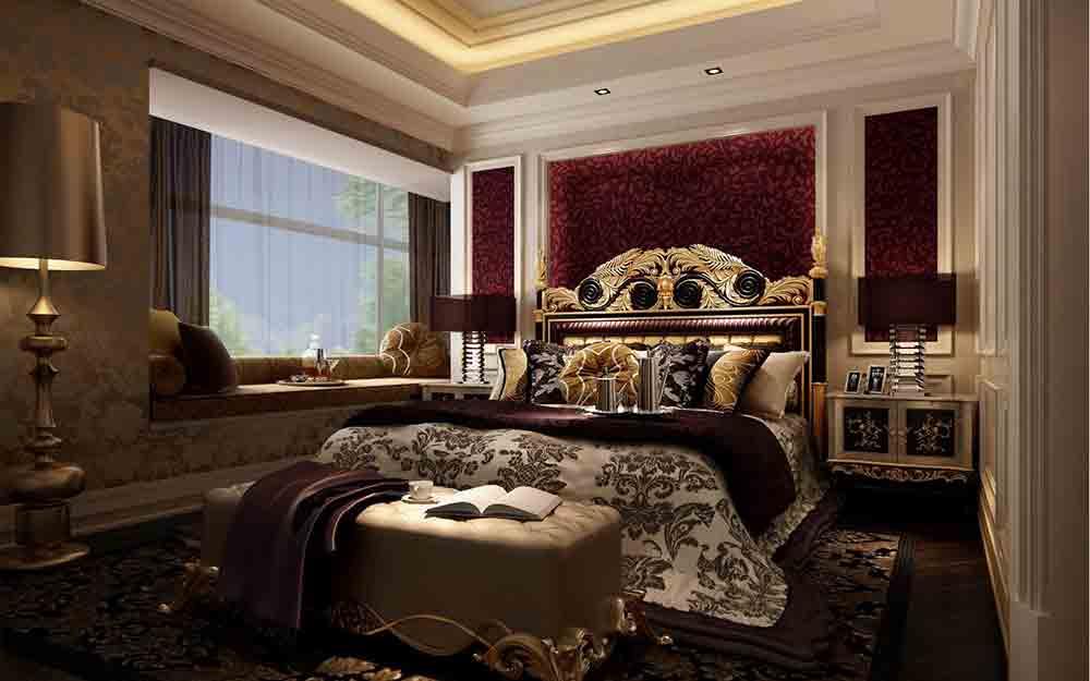 奢华尊贵欧式卧室装潢图片精选