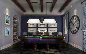 美式风格休闲厅大气装潢图片