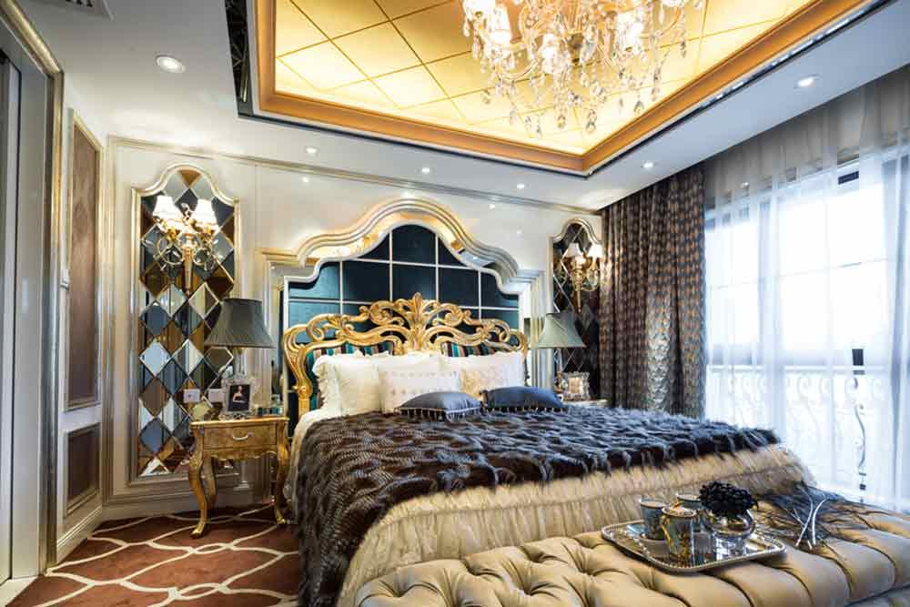 欧式大气奢华卧室精品设计实例