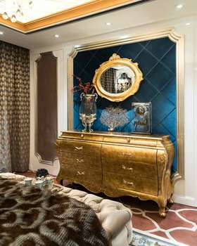 欧式风格华美收纳柜装饰设计