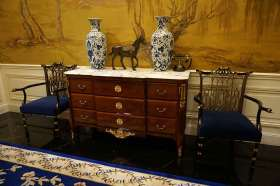 中式精品收纳柜装饰布置