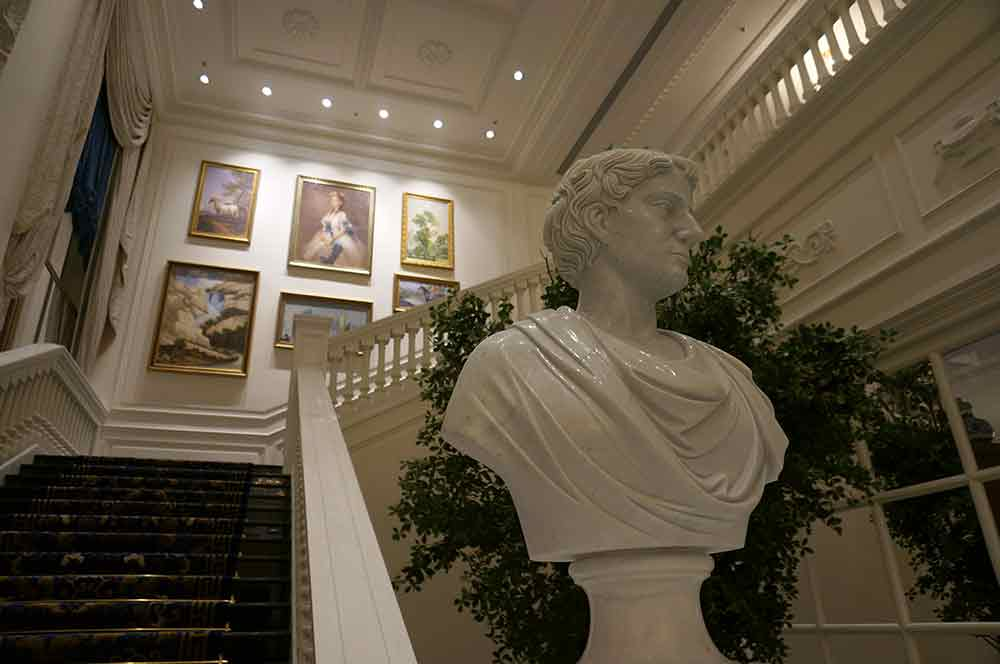 欧式大气华美艺术气质楼梯设计