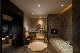 古典精致新中式卫生间装潢图片