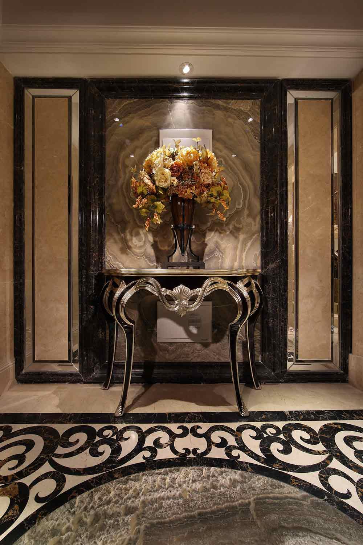 欧式奢华高贵背景墙装饰设计图片图片
