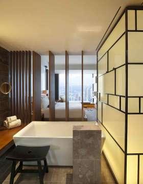 新中式风格卫生间装潢效果图