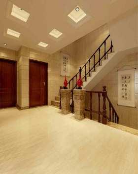 中式风格楼梯装修设计效果图片