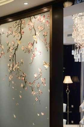 中式鸟语花香飘窗设置