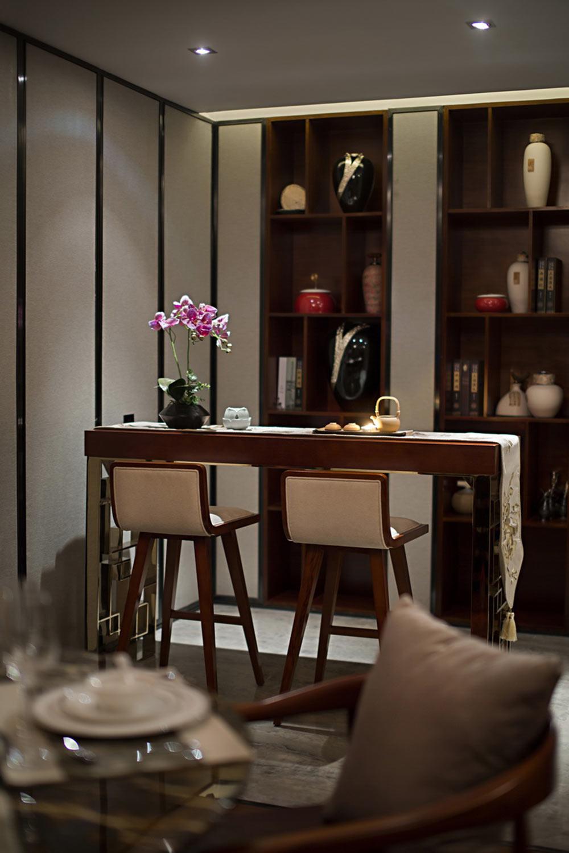 装修美图 2016中式吧台装修效果欣赏  免费户型设计 3家优质装修公司