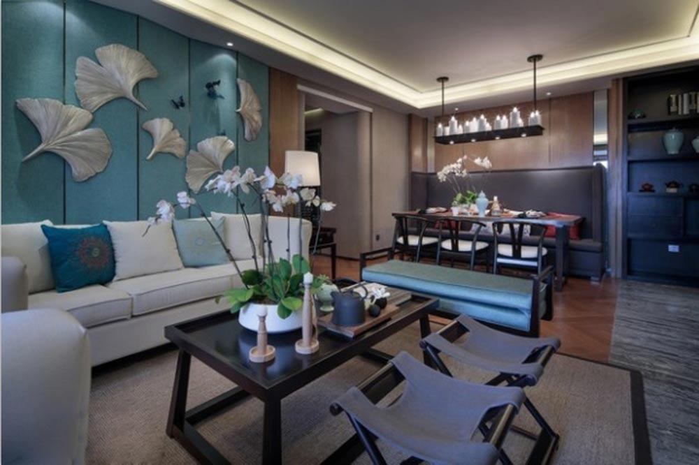 美式休闲客厅装修效果图