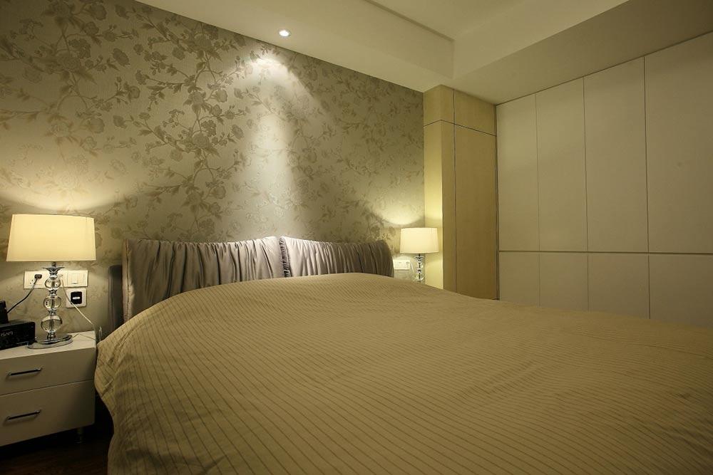 温馨简约北欧风格卧室装潢设计