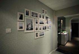 简约时尚照片墙装修效果展示