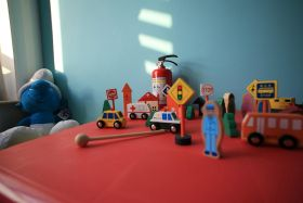 现代创意儿童房一隅装修效果图