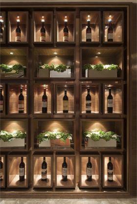 2016新古典酒柜装修案例欣赏