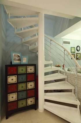简约个性楼梯环境装饰布置