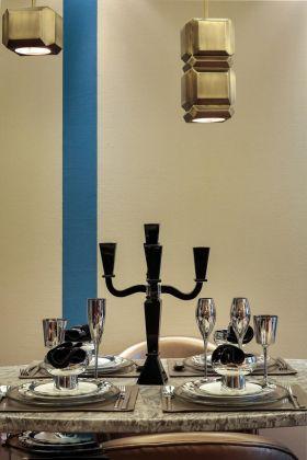 新古典风格优雅餐厅装饰设计