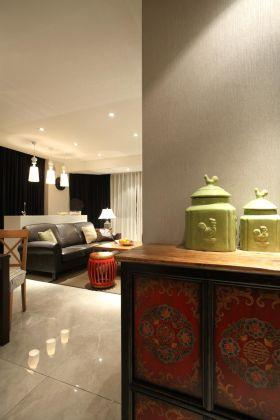 中式风格收纳柜装饰设计图片