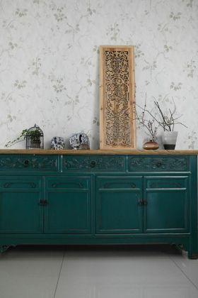 中式风格复古收纳柜装修图片