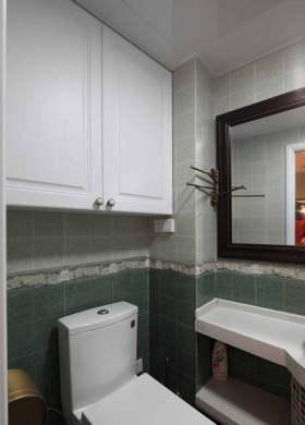 简约美式实用浴室柜装潢设计