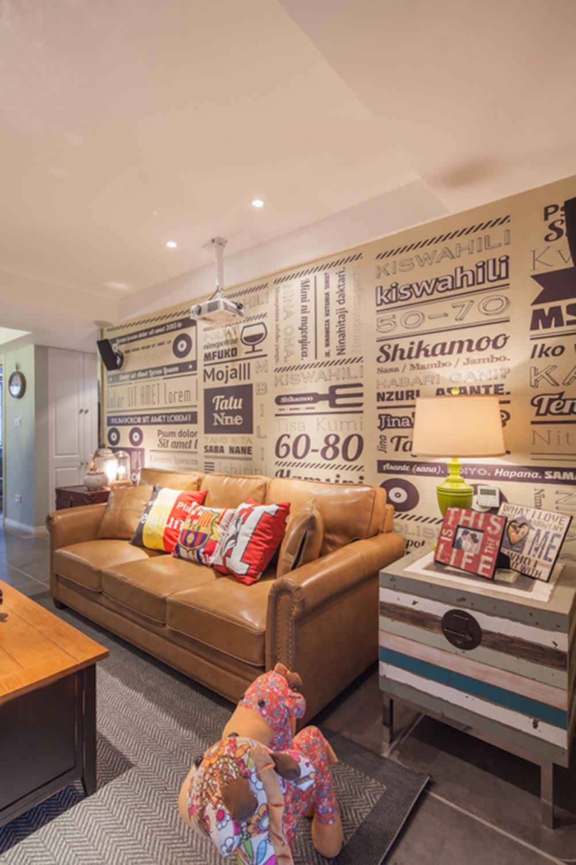2016北美简约风格客厅设计案例