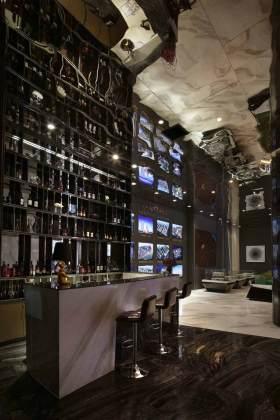 时尚大气现代风格酒柜装修图片欣赏