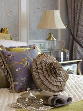 唯美浪漫新古典主义卧室装潢细节图