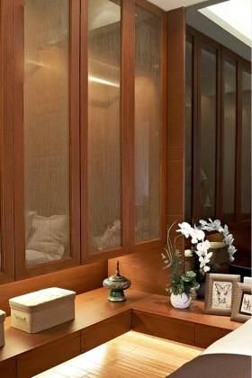 素雅新中式多功能收纳柜设计