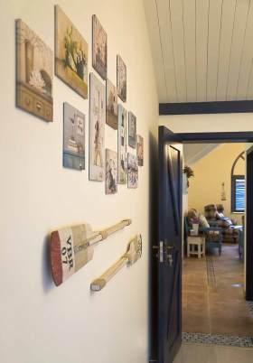 地中海风格家装照片墙设计
