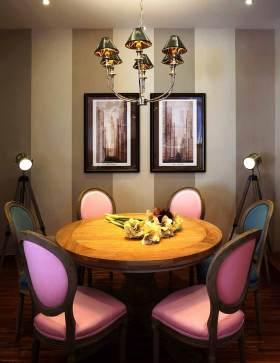 2016梦幻唯美新古典餐厅装修效果图