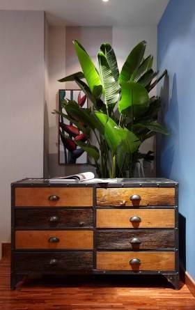 新古典风格清新收纳柜设计图片