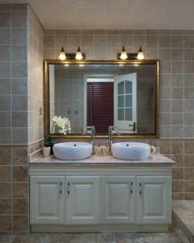 简欧设计浴室柜展示