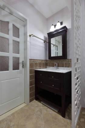 简约新中式浴室柜设计欣赏