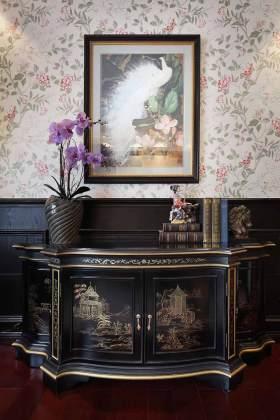 新古典主义精致收纳柜装潢案例