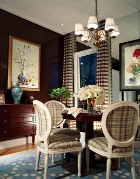 古雅美式餐厅温馨装潢