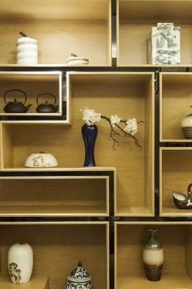 雅致简约新中式收纳柜展示设计