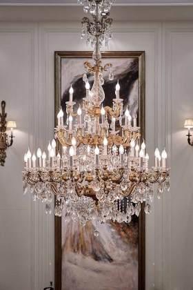 2016华美欧式水晶吊灯设计案例