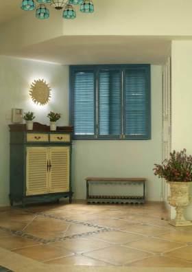 地中海风格收纳柜装饰设计图片